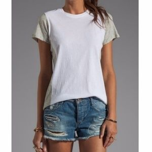 Vince color block tee shirt